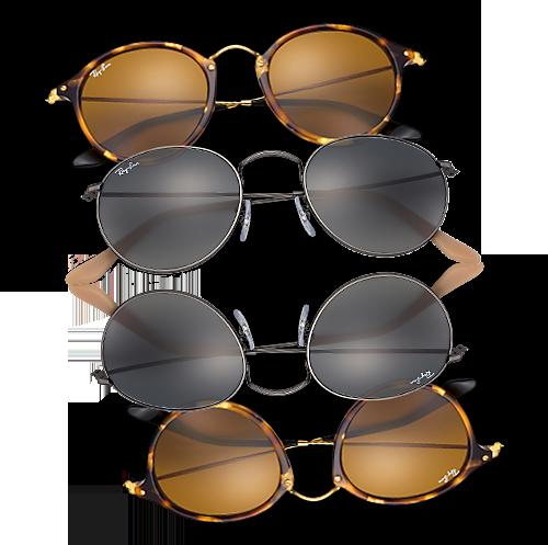 Iconische ronde zonnebrillen  Ray-Ban Round   Vianen 7b4443f5e568